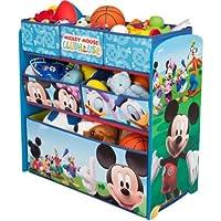 Delta Children Disney Mickey Mouse Multi-Bin Toy Organizer