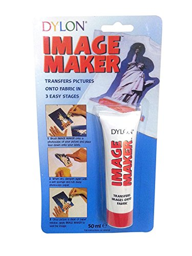 Dylon Image Maker Tube with Squeezy Feature, Personalize in Just 3 Simple Steps, Easy to Use, Size: 50 ()