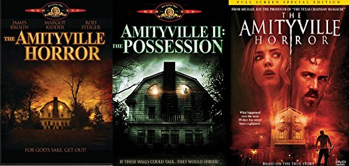 Amityville Horror Movie Set (DVD) The Amityville Horror (1979)/ Amityville 2: The Possession/ The Amityville Horror (2005) Triple Feature 3-Pack Set