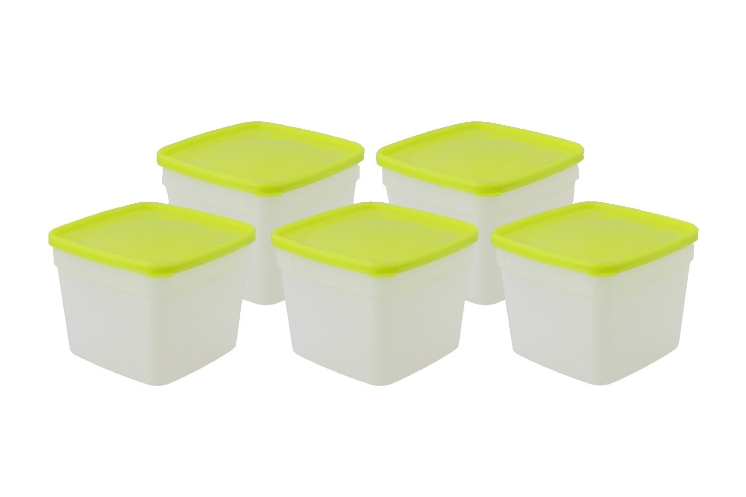 Stor Keeper Freezer Storage Containers 1 Pint 5-pack