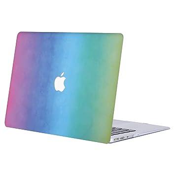 AJYX Funda MacBook Pro 15 2019/2018/2017/2016, Carcasa Case Duro para MacBook Pro 15.4 Pulgadas con Touch Bar y Touch ID Modelo A1707/A1990,R652 Arco ...