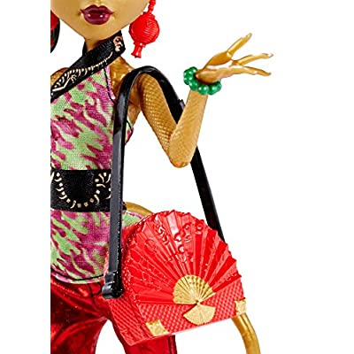 Monster High New Scaremester Jinafire Long Fashion Doll: Toys & Games