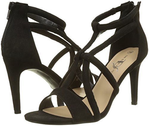 Toe Sandals Open 001 The Factory Divine Black Belita Women's noir RIwRYXxqPa