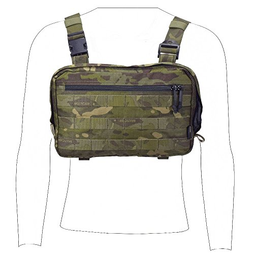 EMERSONGEAR Recon Tool Pouch,Lightweight Casual Chest Bag Multi-functional Tactical Cordura Ballistic Nylon Plenty of Pockets and Places Original Kit Shoulder Bag for Men Multicam Tropic