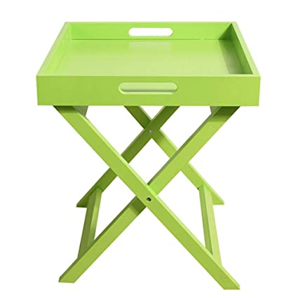 Delicieux ZAYBJ XRXY Side Table, Mini Practical Wooden Foldable Side Table Portable  Simple Living Room Sofa