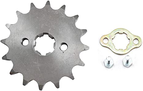 20mm Pit Bikes Front Sprocket 428 19 Tooth Teeth Hole 90cc 110cc 125cc 140cc