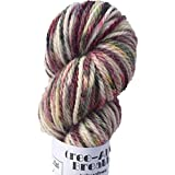 Artisan Yarns Hand Dyed Baby Alpaca Yarn, Hand Painted: Anthropology, Dk Weight, 80 Grams, 200 Yards, 100% Baby Alpaca