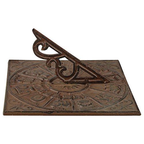 Esschert Design TH25 Sundial (Zodiac Sundial)
