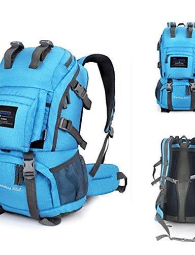 GXS groß Mehrzweck-Outdoor Sports Wandern Camping Reiten Bergsteigen Taschen Rucksack UTILITY - lichtgrün gTTH0EH3kz