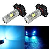 led 5202 fog lights 8000k - Alla Lighting 3200 Lumens Newest Version 5201 5202 LED Fog Light Bulb High Power 3030 27-SMD Extremely Super Bright LED 5201 Bulb for PS19W 5201 5202 LED Bulbs Fog Lights, 3000K Gold Yellow (Set of 2)