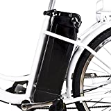 "Nakto 26"" 250W Cargo-Electric Bicycle 6 speed e-Bike 36V Lithium Battery Aadult/Young Adult-Women"