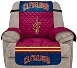 Pegasus Sports NBA Cleveland Cavaliers Unisex Nbanba Furniture Protector with Elastic Straps, Wine, Recliner