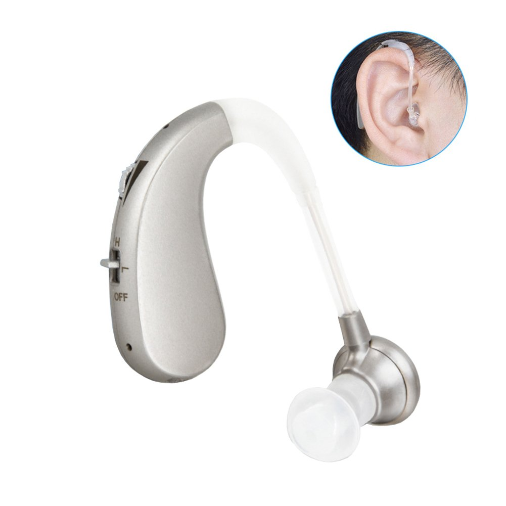 SGDOLL Digital Hearing Amplifier Rechargeable Hearing Aid Personal Ear Hearing Enhancement Sound Amplifier