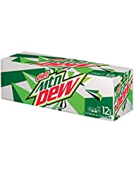 Diet Mountain Dew Cans (12 Count, 12 Fl Oz Each)