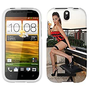 HTC One SV Brunette Play Piano by Emiro Cover