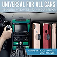 Cell Phone Holder for Car Dashboard Universal Car Phone Mount Magnetic +100 to Safeness /& Comfort All-Metal Car Mount for Smartphone /& GPS