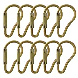 Fusion Climb Prima II Auto Lock Ladder Hook High Strength Carabiner 10-Pack