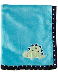 Baby-Boys Newborn Big Time Cute Plush Coral Fleece Blanket