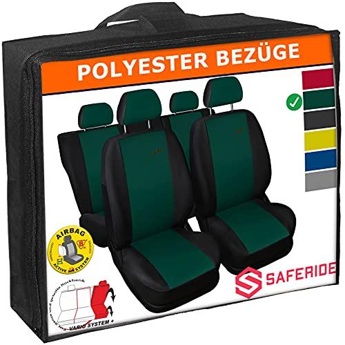 Saferide | Universele stoelhoezen complete set stoelhoes voor auto stoelbeschermer set beschermhoezen autostoel…