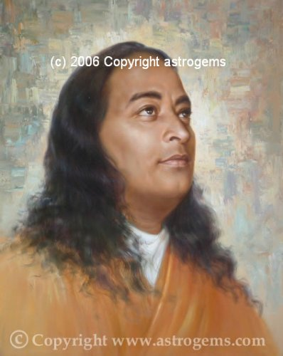 Yogananda 11 x 14 Color Photograph (11-34) by Yoga Masters Collection