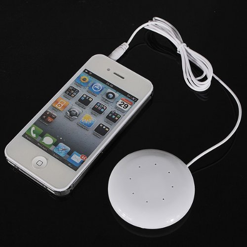 StillCool Pillow Speaker for MP3 MP4 Player iPod Mini 3.5mm (White) by StillCool (Image #2)