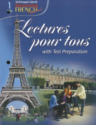 Discovering French, Nouveau!: Lectures pour tous Student Edition with Audio CD Levels 1A/1B/1