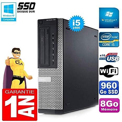 Dell PC 790 DT Core I5-2400 - Disco Duro de 8 GB (SSD de 960 GB ...