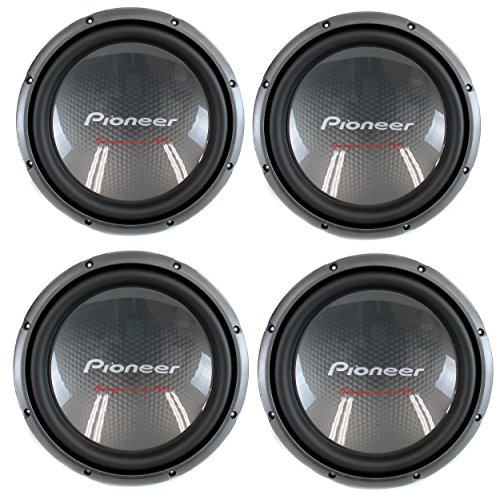 "4) Pioneer 12"" 2000W Champion Car Power Subwoofers 4-Ohm ..."