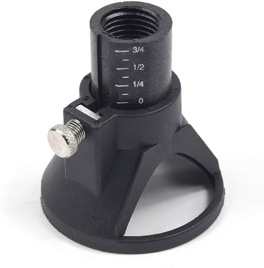 CRAZYON pr/écis Rotatif /à d/écouper Positionneur Locator Punch Twist Nez Capuchon perceuse