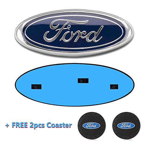 Ford F150 Front Grille Tailgate Emblem, Oval 9