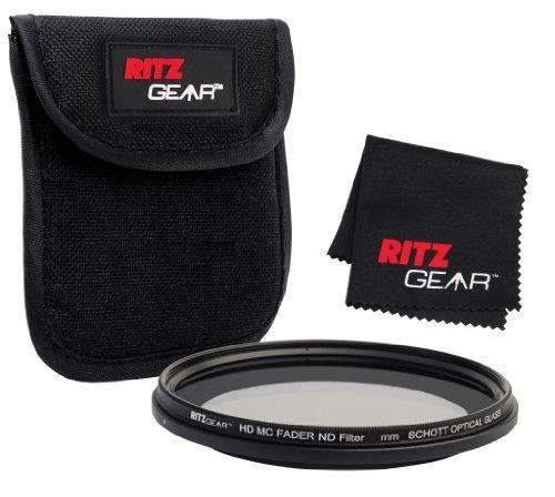 Ritz Gear™ 55mm Premium HD MC Fader ND Filter With SCHOTT