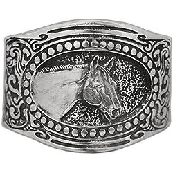 Horse Lady Gifts Quarter Horse Cuff Bracelet
