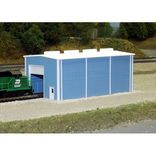Pikestuff 541-8002 N Small Engine House Building Kit Engine House