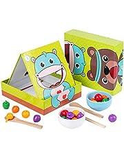 Guizhou Conjunto de jogo de simulação de brinquedo Montessori, coordenação motora fina, treinamento de coordenação óculo-manual para bebês a partir de 1 ano