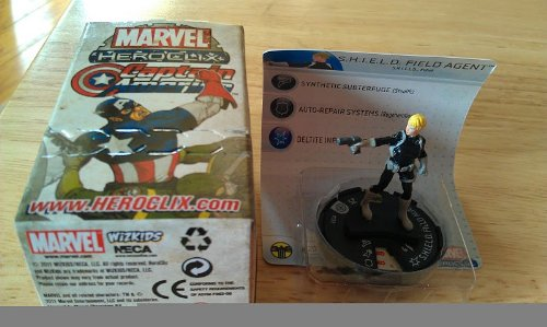Heroclix Marvel Shield - Marvel Heroclix Captain America Gravity Feed SHIELD Field Agent