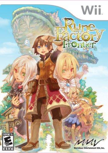 (Rune Factory: Frontier - Nintendo Wii )