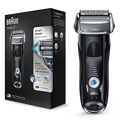 Braun Series 7 Electric Shaver for Men 7840s, Wet and Dry, Integrated...