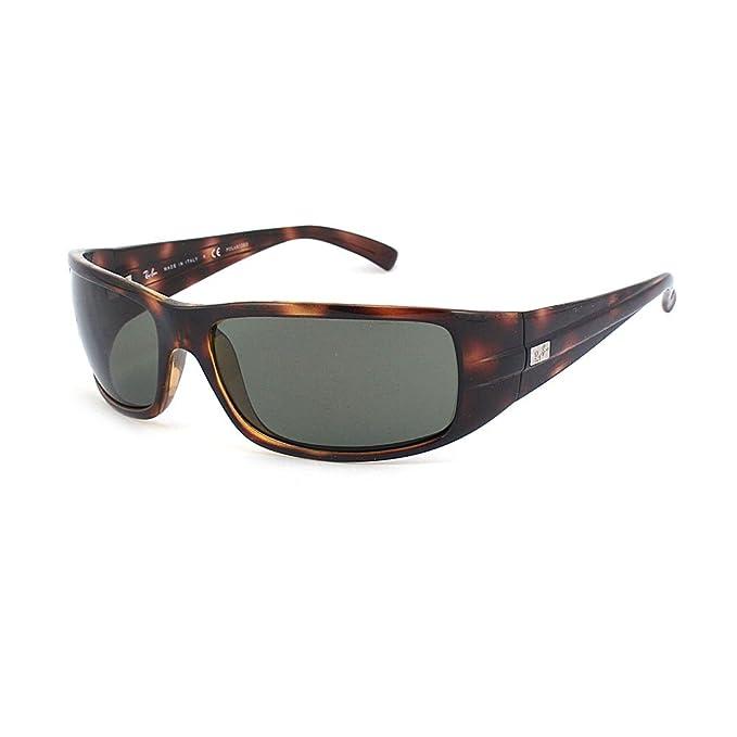 Ray-Ban RB4057 Havana/Crystal Verde - Gafas de sol polarizadas (RB4057-642-58-61-16.: Amazon.es: Ropa y accesorios