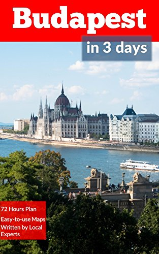 Budapest Days Travel Guide 2018 ebook product image