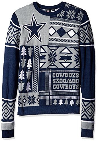 Dallas Cowboys Christmas Sweater, Cowboys Holiday Sweater