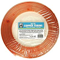 Dial Mfg 4355 Copper Tube for Evaporative Cooler, 1/4-Inch x 50 Ft. - Quantity 10