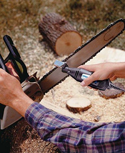 Dremel Lawn Mower Blade Sharpening