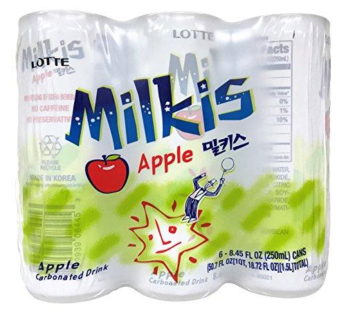 lotte-milkis-soda-beverage-apple-85-fluid-ounce-pack-of-6