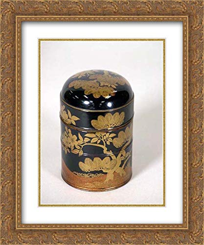 Japan Culture - 20x24 Gold Ornate Frame and Double Matted Museum Art Print - Lunchbox Set