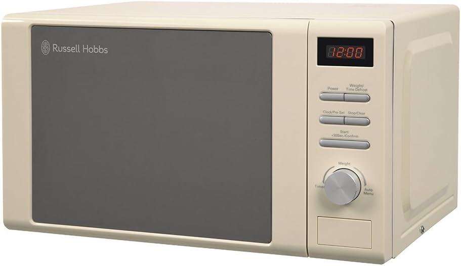 Russell Hobbs RHM2064C Heritage Digital Microwave Cream 20 Litre
