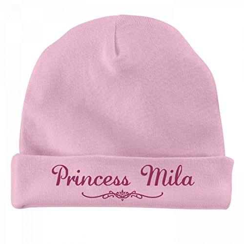 Price comparison product image FUNNYSHIRTS.ORG Princess Mila Newborn Gift: Infant Baby Hat