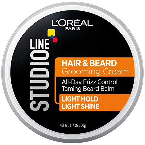L'oreal Paris Hair Care Studio Line Beard and Hair Cream, 1.7 Ounce