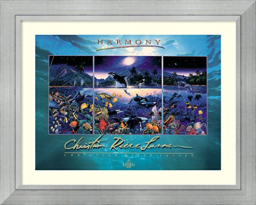 Framed Art Print 'Harmony' by Christian Riese Lassen by Amanti Art