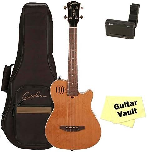 Godin Multiuke Natural HG (36080) guitarra electroacústica ukelele ...