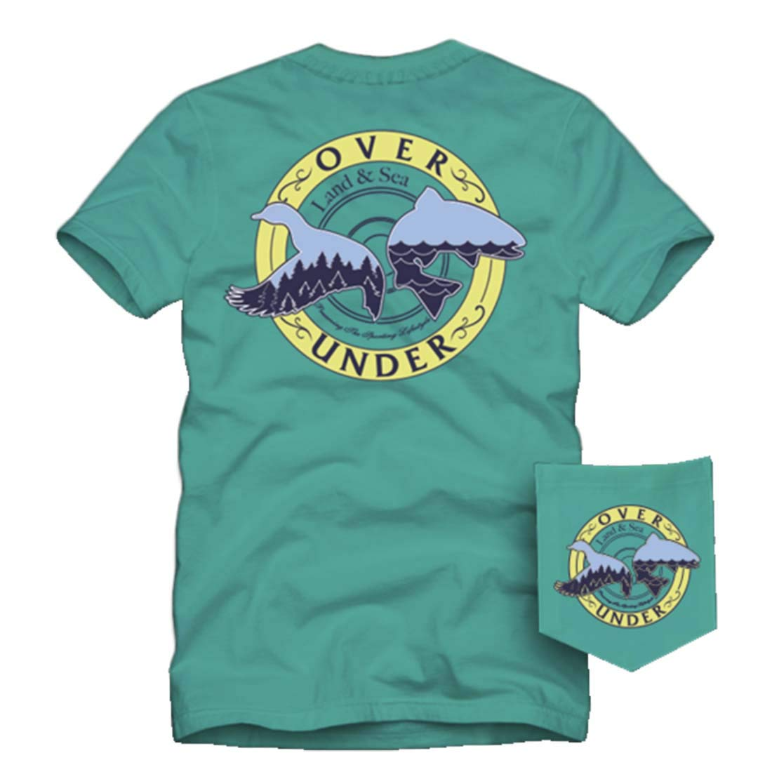 Over Under Duck and Trout T-shirt